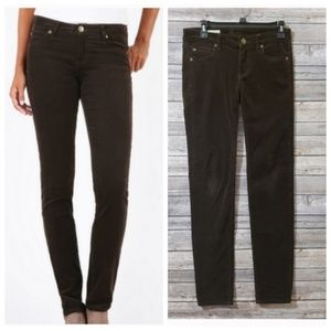 0 KFTK Brown Bean Diana Skinny Corduroy Pants